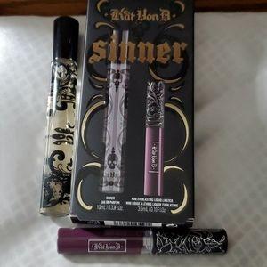 """Kat Von D """"Sinner"""" duo - Special Limited Edition"""